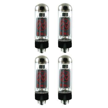New Matched Quad (4) JJ E34L Vacuum Tubes