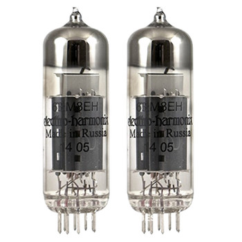 Brand New In Box Matched Pair (2) 6BM8 ECL82 Electro-Harmonix Vacuum Tubes