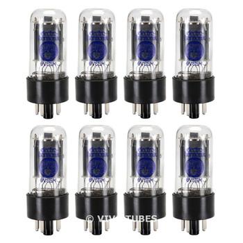Brand New Current Matched Octet (8) Electro-Harmonix 6V6 6V6GT Vacuum Tubes