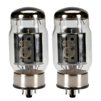 Brand New In Box Current Matched Pair (2) Electro-Harmonix KT88 Vacuum Tubes