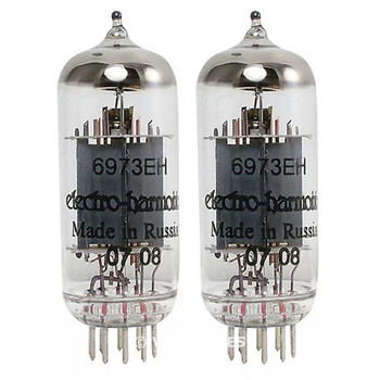 Brand New In Box Current Matched Pair (2) 6973 Electro-Harmonix Vacuum Tubes