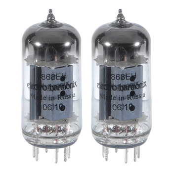 Brand New Electro-Harmonix 7868 Plate Current Matched Pair (2) Vacuum Tubes