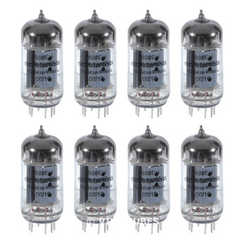 Brand New Electro-Harmonix 7868 Plate Current Matched Octet (8) Vacuum Tubes
