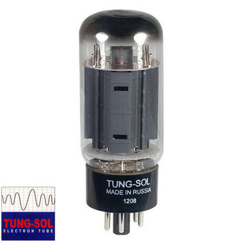 Brand New Tung-Sol Reissue 7581A KT66 Plate Current Tested Vacuum Tube