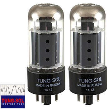 Brand New Tung-Sol Reissue 7591A Plate Current Matched Pair (2) Vacuum Tubes