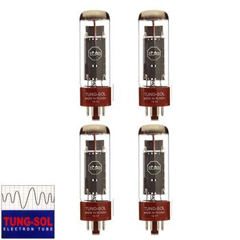New Matched Quad (4) Tung-Sol EL34B Vacuum Tubes