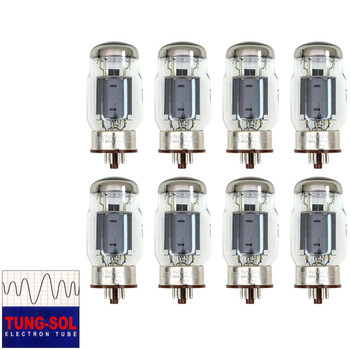 Brand New Tung-Sol Reissue KT66 Plate Current Matched Octet (8) Vacuum Tubes