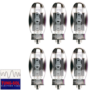 Brand New Tung-Sol KT150 KT-150 Plate Current MatchedSextet (6) Vacuum Tubes