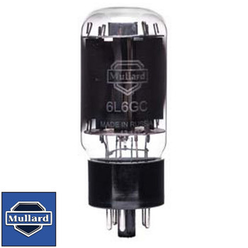 Brand New In Box Mullard Reissue 6L6GC 6L6 Vacuum Tube Plate Current Tested