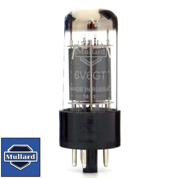 Brand New In Box Mullard Reissue 6V6GT 6V6 Plate Current Tested Vacuum Tube
