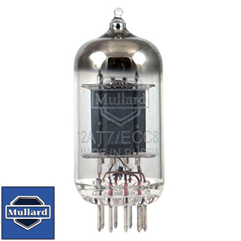 Brand New In Box Gain Tested Mullard Reissue 12AT7 ECC81 Vacuum Tube