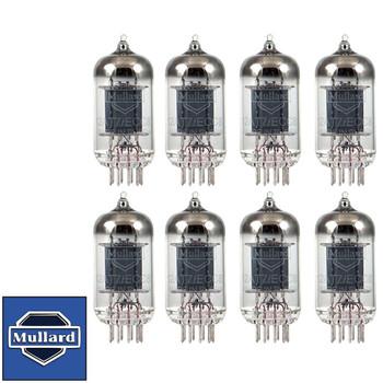 Mullard Reissue 12AT7 ECC81 Gain Matched Octet (8) Brand New Vacuum Tubes