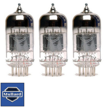 Brand New Gain Matched Trio (3) Mullard Reissue  ECC82 12AU7 Vacuum Tubes
