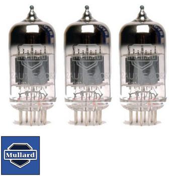 Brand New Gain Matched Trio (3) Mullard Reissue  ECC82 12AU7 Vacuum Tubes