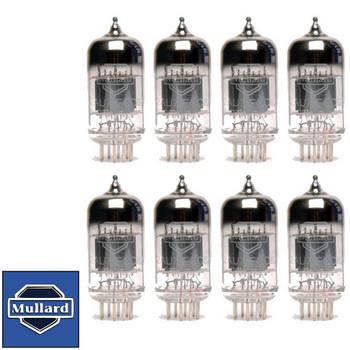 Mullard Reissue 12AU7 ECC82 Gain Matched Octet (8) Brand New Vacuum Tubes
