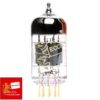 Brand New Genalex Reissue 12AU7 ECC82 GOLD PINS Gain Tested Vacuum Tube