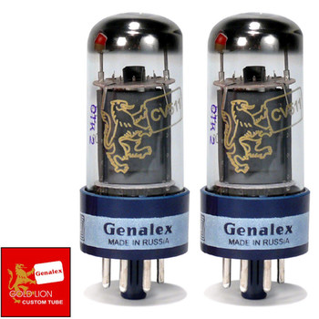 Brand New In Box Genalex Reissue 6V6GT 6V6 Current Matched Pair (2) Vacuum Tubes