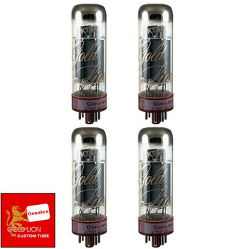 Brand New Genalex Reissue KT77 KT-77  Current Matched Quad (4) Vacuum Tubes