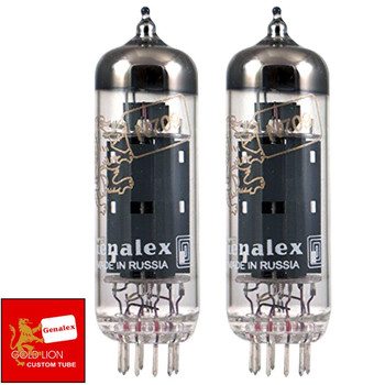 Brand New Genalex Reissue EL84 6BQ5 N709 Current Matched Pair (2) Vacuum Tubes