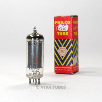 True NOS NIB Philco USA 6CZ5 Black Plate Top O Get Vacuum Tube 100+%