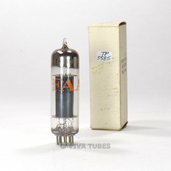 True NOS NIB RCA USA 6CZ5 Black Plate O Get TALL BOTTLE Vacuum Tube 100+%