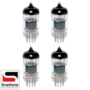 Gain Matched Quad (4) Svetlana 12AX7 ECC83 [Winged =C= SED Reissue] Vacuum Tubes