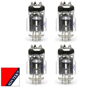 Plate Current Matched Quad (4) Sovtek 6C33C-B Audio Triode Power Vacuum Tubes