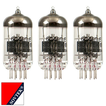 Gain Matched Trio (3) Sovtek 6C45Pi Audio Guitar Vacuum Tubes - Brand New