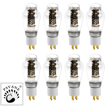 New Current Matched Octet (8) Psvane 300B HiFi Series Vacuum Tubes Gold Pins