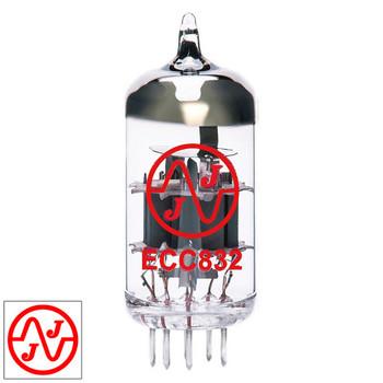 JJ 12DW7 / ECC832 / 7247 Gain Tested Vacuum Tube - Brand New