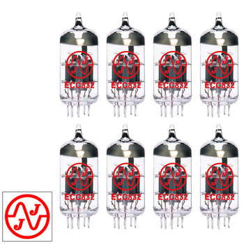 Gain Matched Octet (8) JJ 12DW7 / ECC832 / 7247 Vacuum Tubes - Brand New