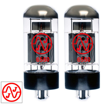 New Current Matched Pair (2) JJ Electronic 6550 Vacuum Tubes