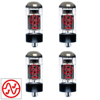 New Current Matched Quad (4) JJ Electronic 6550 Vacuum Tubes