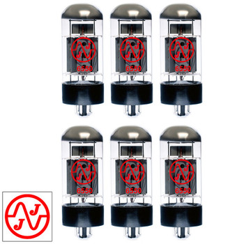 New Current Matched Sextet (6) JJ Electronic 6550 Vacuum Tubes