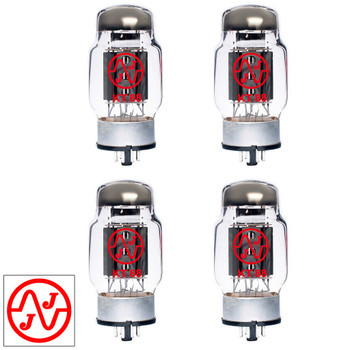 New Current Matched Quad (4) JJ Electronic KT88 (ST Shape) Vacuum Tubes