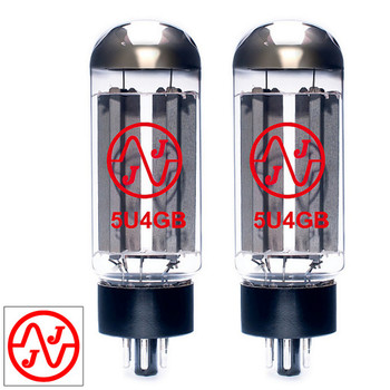 JJ Electronic Matched Pair (2) 5U4 / 5U4GB Rectifier Vacuum Tubes New