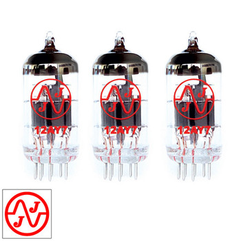Gain Matched Trio (3) JJ 12AY7 / 6072A Vacuum Tubes - Brand New