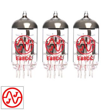 Gain Matched Trio (3) JJ 6922 / E88CC / 6DJ8 / ECC88 Vacuum Tubes - Brand New
