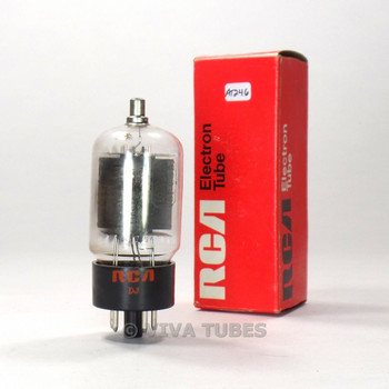 True NOS NIB RCA USA 6DQ6B = 6GW6 Gray Plate 2 Side O Get Vacuum Tube 100%