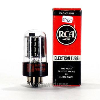True NOS NIB RCA USA 6GL7 Grey Plate O Get Vacuum Tube