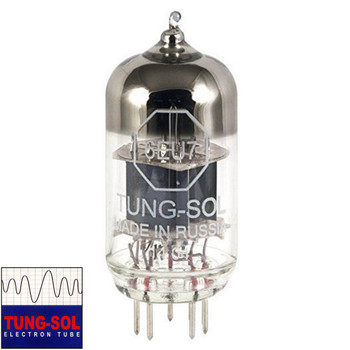 Brand New Gain Tested Tung-Sol Reissue 6EU7 Vacuum Tube