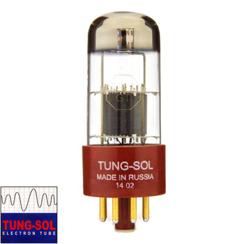 Brand New Gain Tested Tung-Sol Reissue 6SL7 Gold Pins Vacuum Tube