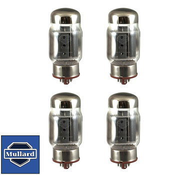 New Plate Current Matched Quad (4) Mullard Reissue KT88 / 6550 Vacuum Tubes