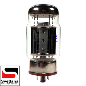 Brand New Plate Current Tested Svetlana KT88-SV Gold Grid Vacuum Tube