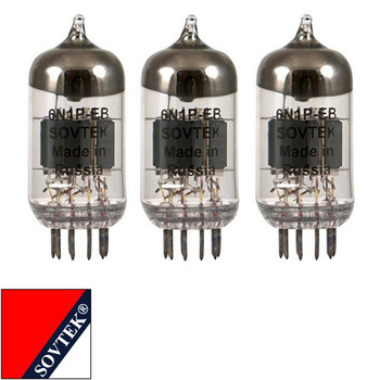 Brand New Gain Matched Trio (3) Sovtek 6N1P / 6N1-P-EV Vacuum Tubes