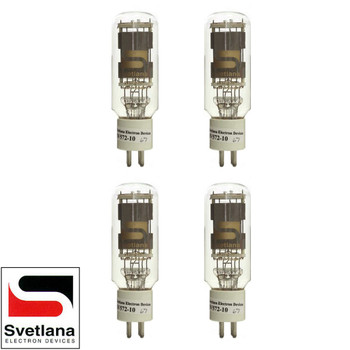 Brand New Factory Matched Quad (4) Svetlana SED SV-572-10 Vacuum Tubes