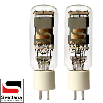 Brand New Factory Matched Pair (2) Svetlana SED SV-572-30 Vacuum Tubes