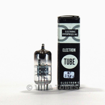 Brimar England 12AT7 [ECC81] Smooth Grey Plate O Get Vacuum Tube 91/84%