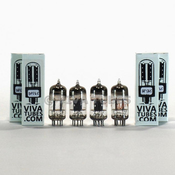 Tests NOS Matched Quad (4) RCA USA 12AT7 [ECC81] Black Plate [] Get Vacuum Tubes