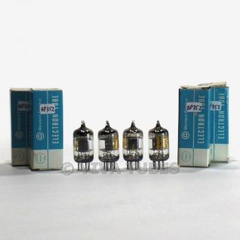 True NIB NOS Date Matched Quad Western Electric 403B/5654/6AK5 Black Plt Tubes